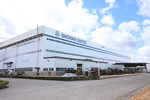 福島工場外観写真